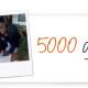 5000 Grazie!