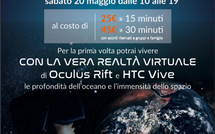 Realtà virtuale immersiva, vieni a provarla?