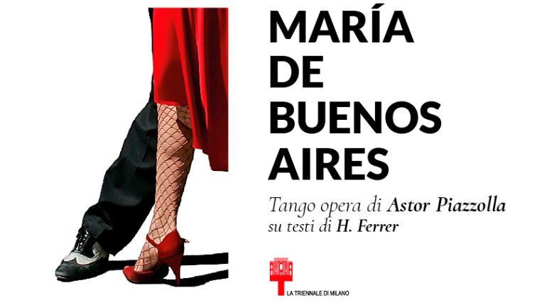 Marìa de Buenos Aires al Teatro dell'Arte di Milano