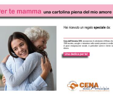 Auguri solidali per la Festa della Mamma